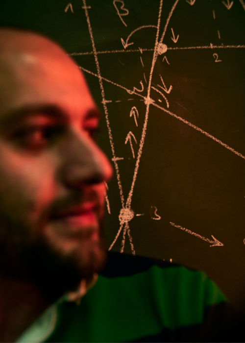Jalal macht Mathematik verständlich